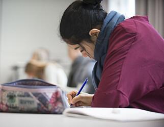 Gjør endringer i eksamen til høsten