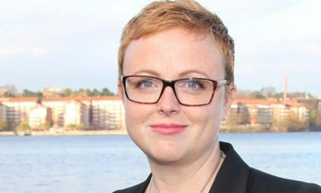 Maria Rönn, nestleder i Lärarförbundet i Sverige.
