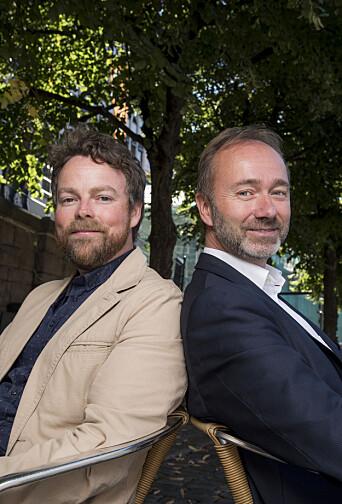 Torbjørn Røe Isaksen (H) og Trond Giske (Ap) var utdanningspolitiske rivaler i valgkampen i ter 2017.