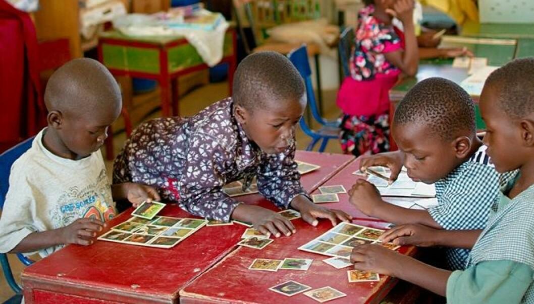 Fra et klasserom i Mali, et av de 12 landene der situasjonen er ekstra kritisk, ifølge Redd Barna-rapporten.