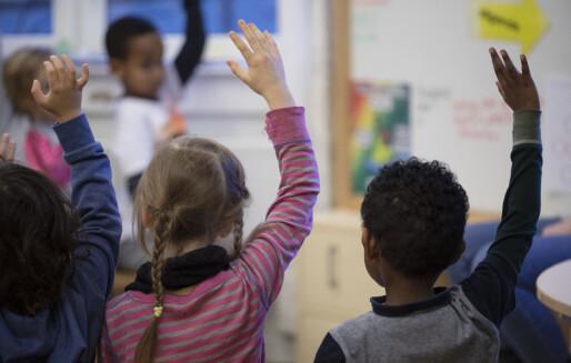 Høyres lek med egen skolepolitikk
