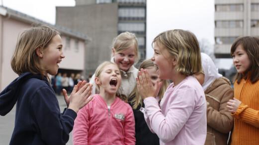 Norske elever trives godt på skolen de første årene