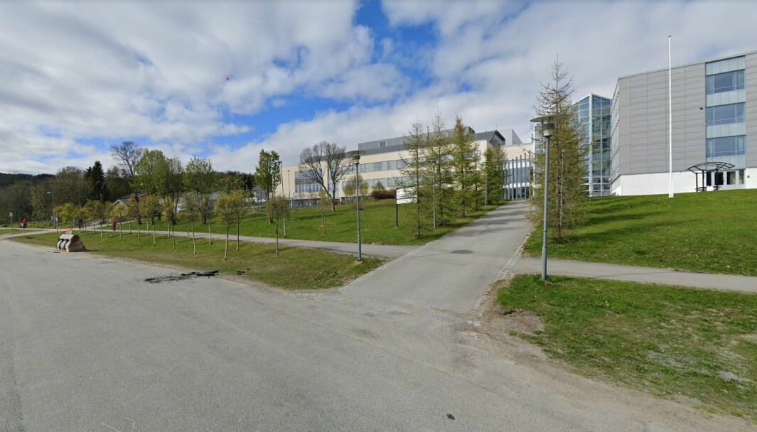 Ishavsbyen videregående skole avdeling Breivika, i Tromsø.
