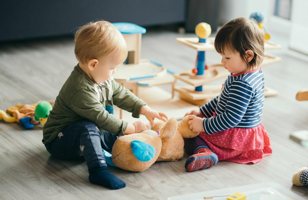 I Trondheim evaluerer forskere tre modeller for tilvenning i barnehagen.