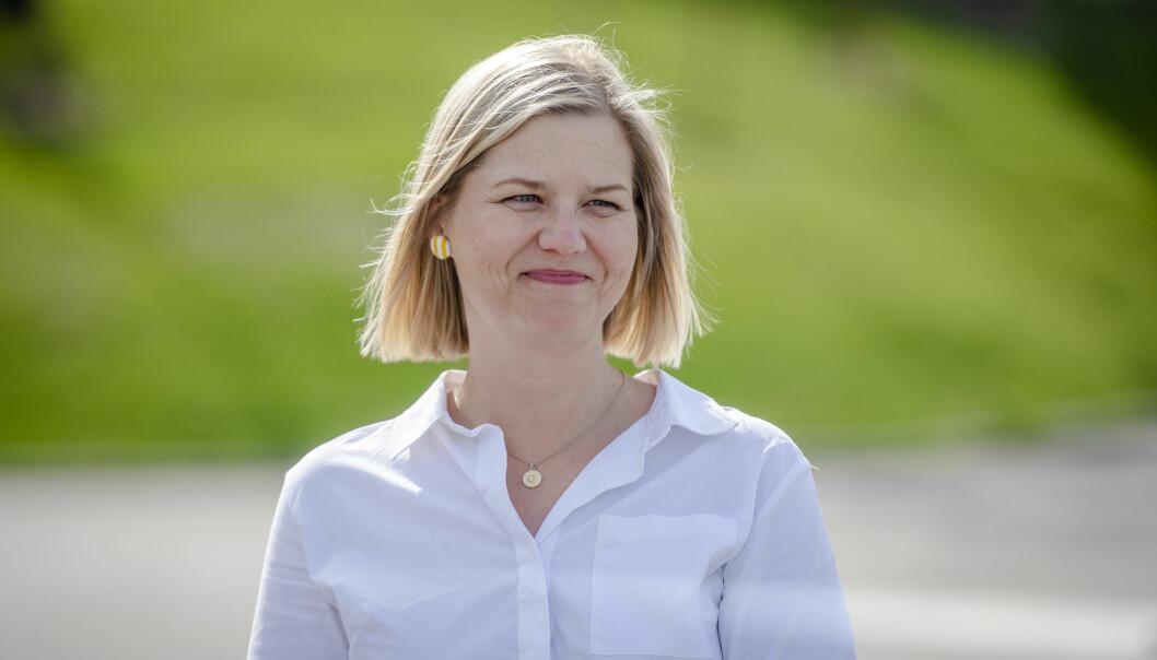 Kunnskapsminister Guri Melby vil bli Venstre-leder.