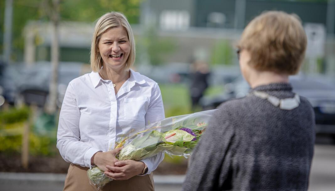 Kunnskapsminister Guri Melby er innstilt som ny Venstre-leder.