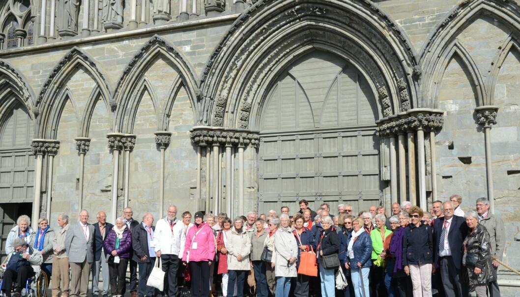 Nordisk pensjonisttreff i Trondheim 2014.