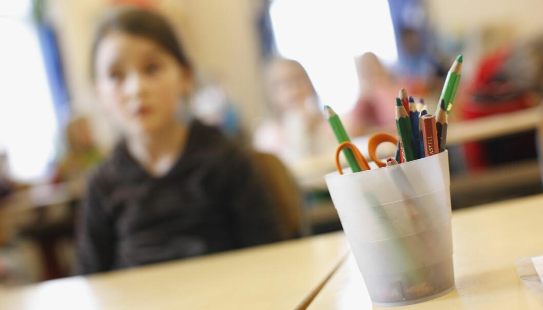 Senterpartiet stiller spørsmål om oppmøteplikten på skolen.