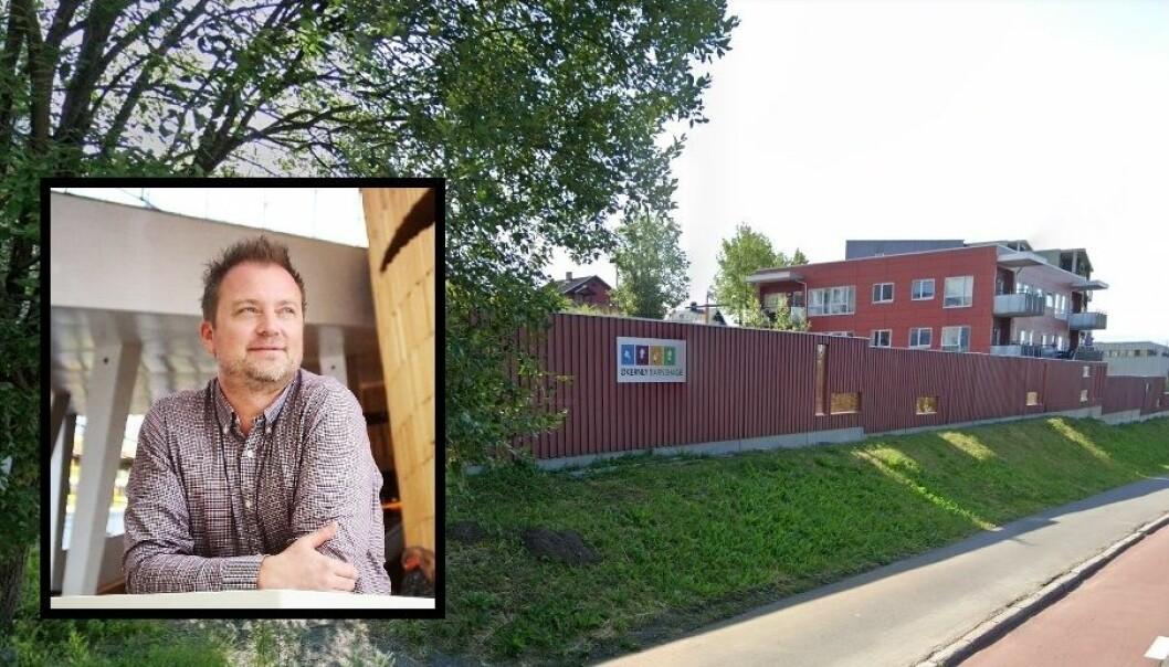Eirik Husby og Økernly barnehage.