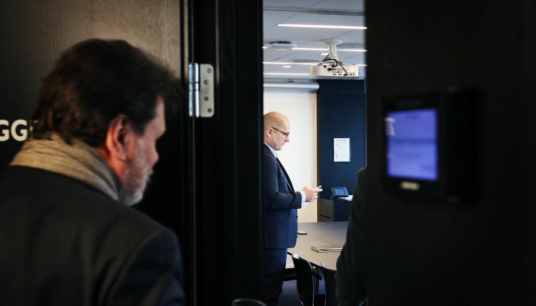 Bildet er fra lønnsoppgjøret i 2019. Før årets lønnsoppgjør starter tar UDF Bergen til orde for at lokale forhandlingene droppes.