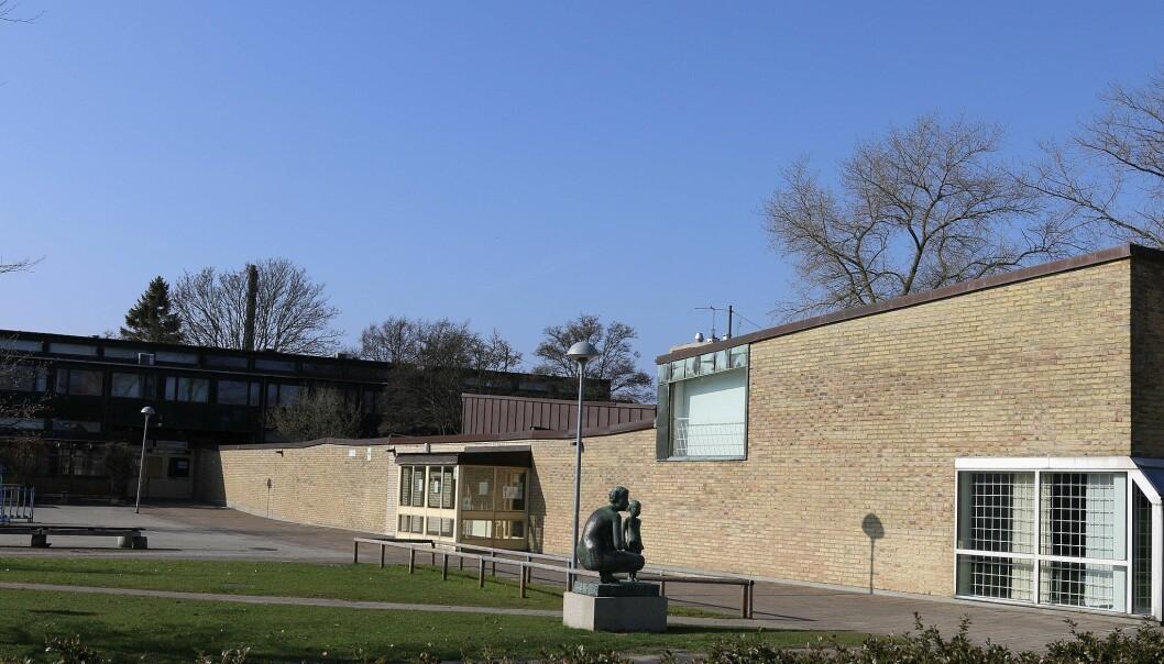 Heleneholms gymnasium.