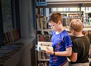 Frykter at skolebibliotek forsvinner