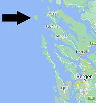 Fedje kommune ligger nord for Bergen.