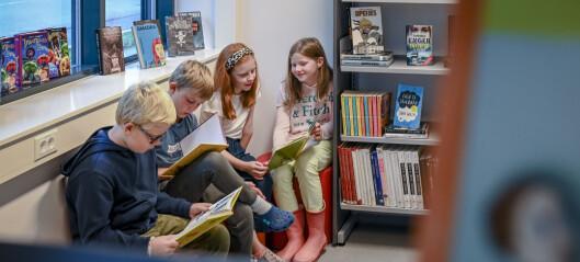 Satser på skolebibliotekene i Oslo, men mangler penger