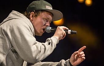 Rapperen Jaa9 ga lærerstudentene undervisning i rap og sanglyrikk