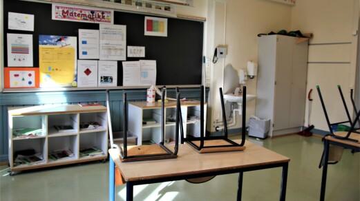 Høyt sykefravær: Rektorer frykter de må permittere klasser
