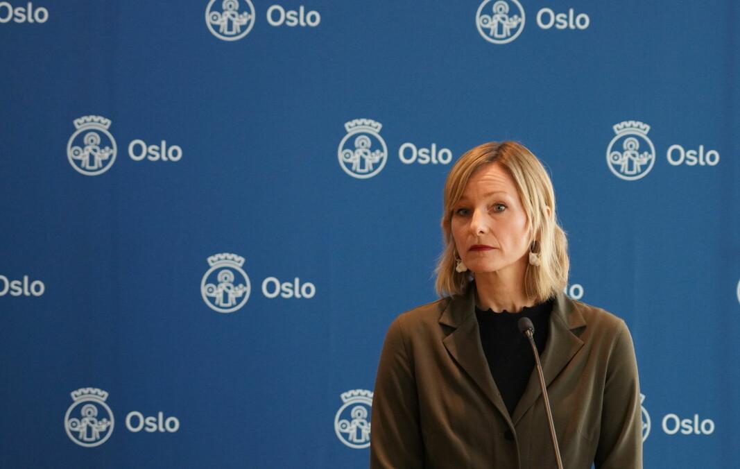Skolebyråd Inga Marte Thorkildsen er uenig med Fylkesmannen i hva de skal betale ut til private barnehager.
