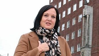 UDF-leder i Oslo, Aina Skjefstad Andersen.