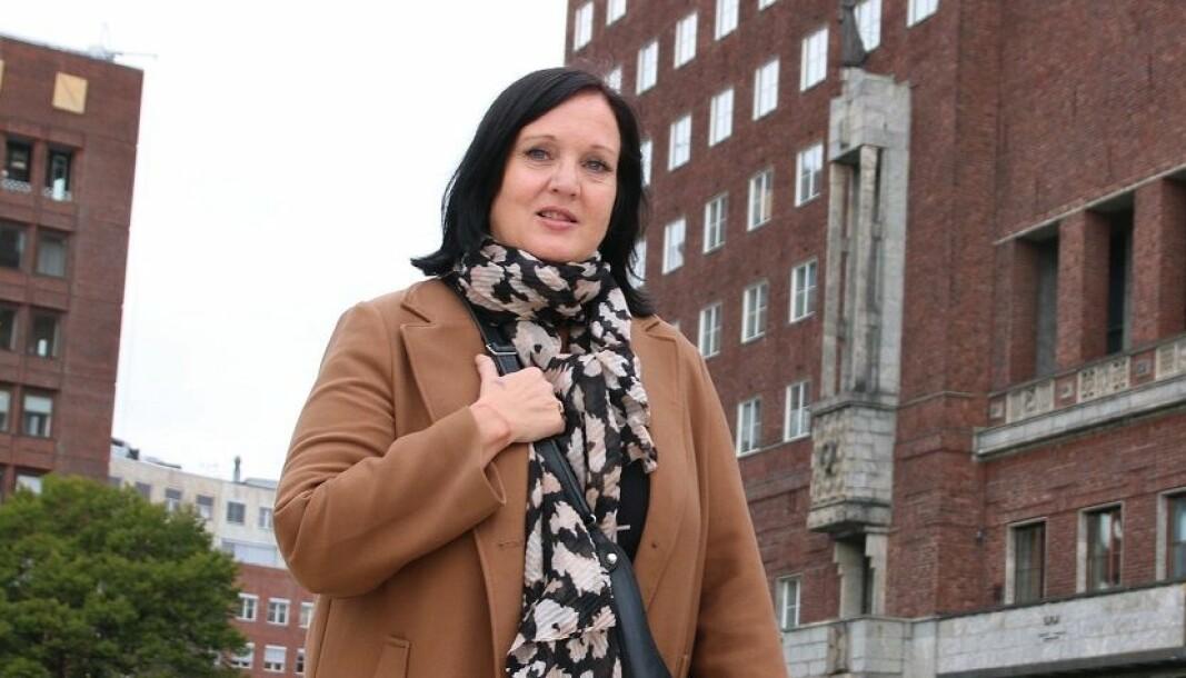 Leder Aina Skjefstad Andersen mener det er klokt å innføre rødt nivå i Oslos ungdomsskoler.