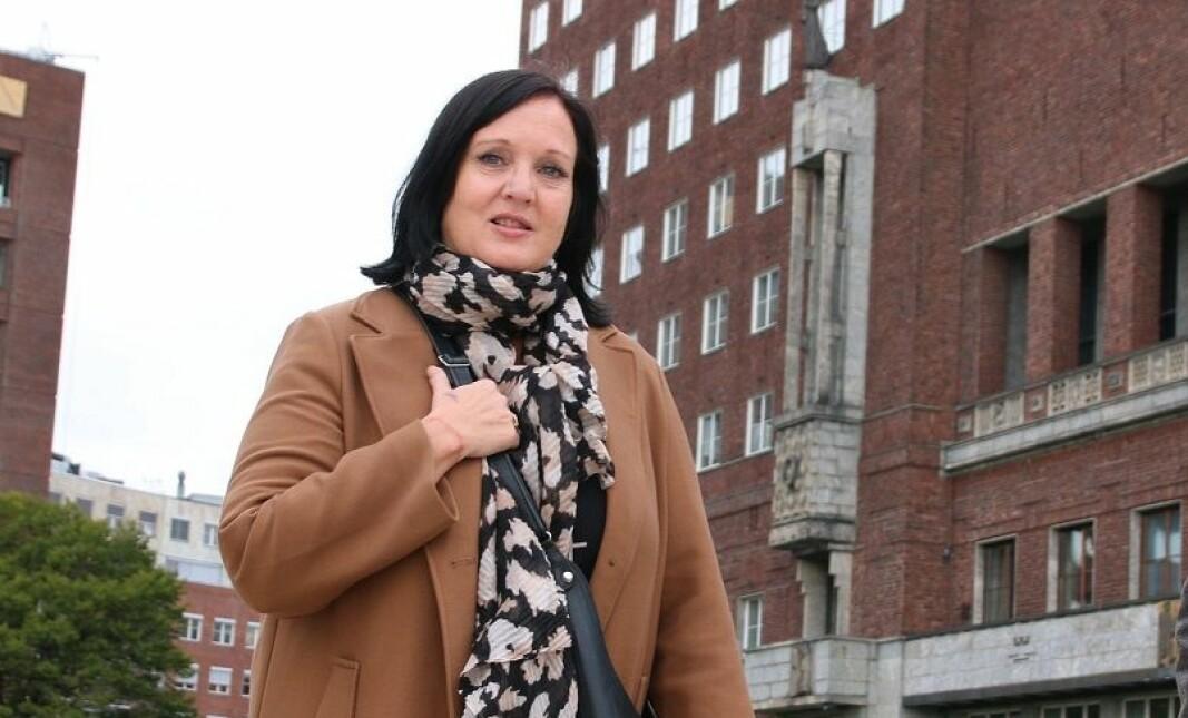 Aina Skjefstad Andersen, leder i UDF Oslo, frykter hva bydelskuttene vil bety for vikarbruken i barnehagene.