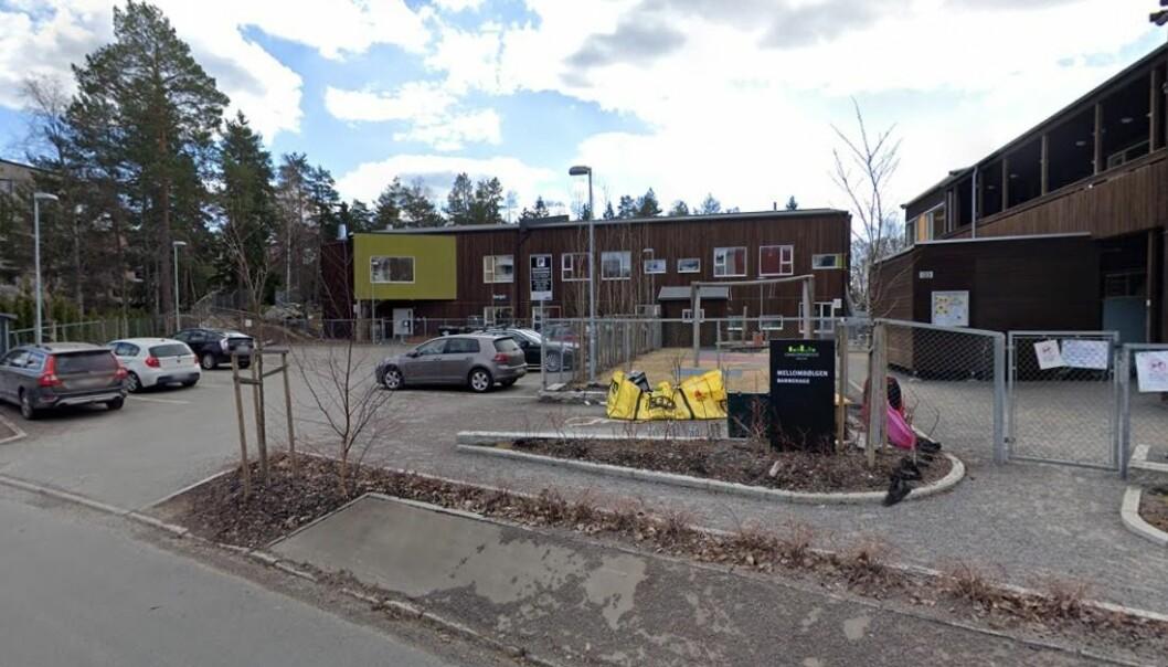 Mellombølgen barnehage ligger på Lambertseter sør i Oslo.