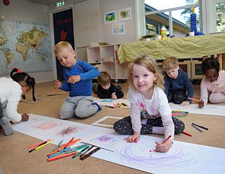 Derfor skal du ikke sette grenser for barnas kunst