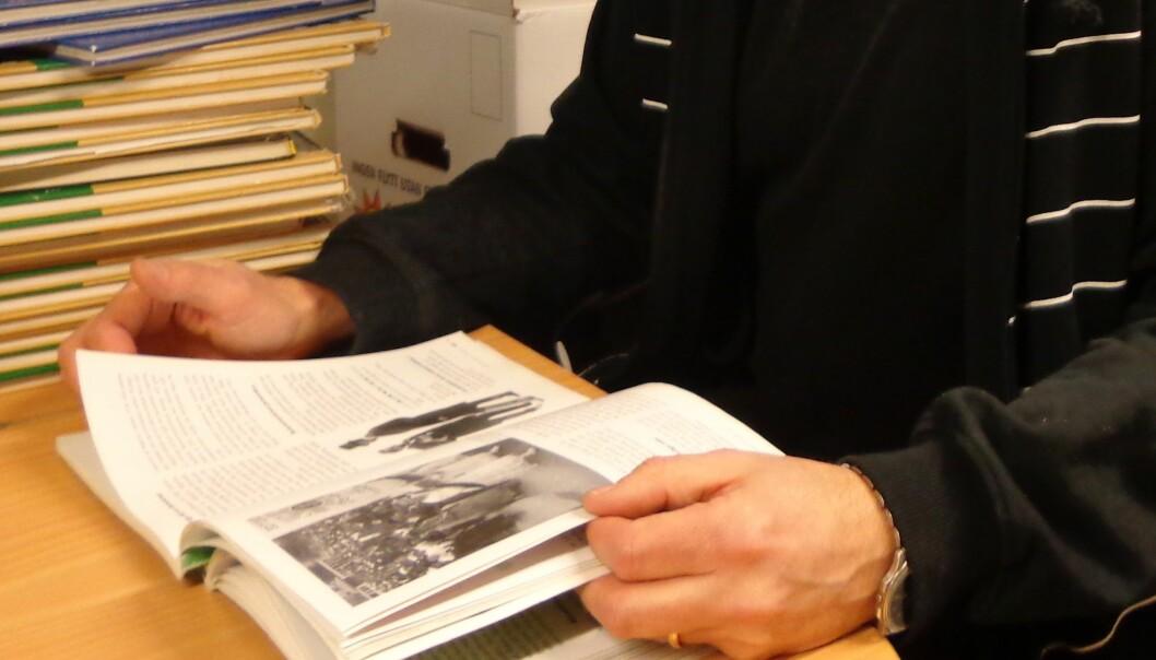 – Det vanligste er at noe annet enn læreboka skaper struktur og sammenheng i undervisningen.