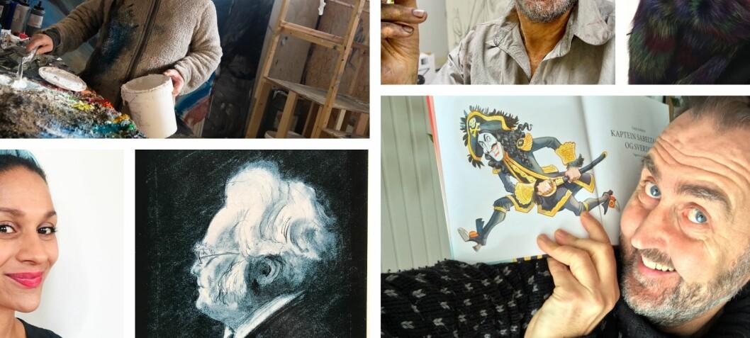 Fem kunstnere om hva som var avgjørende i barndommen for at de ble kunstnere