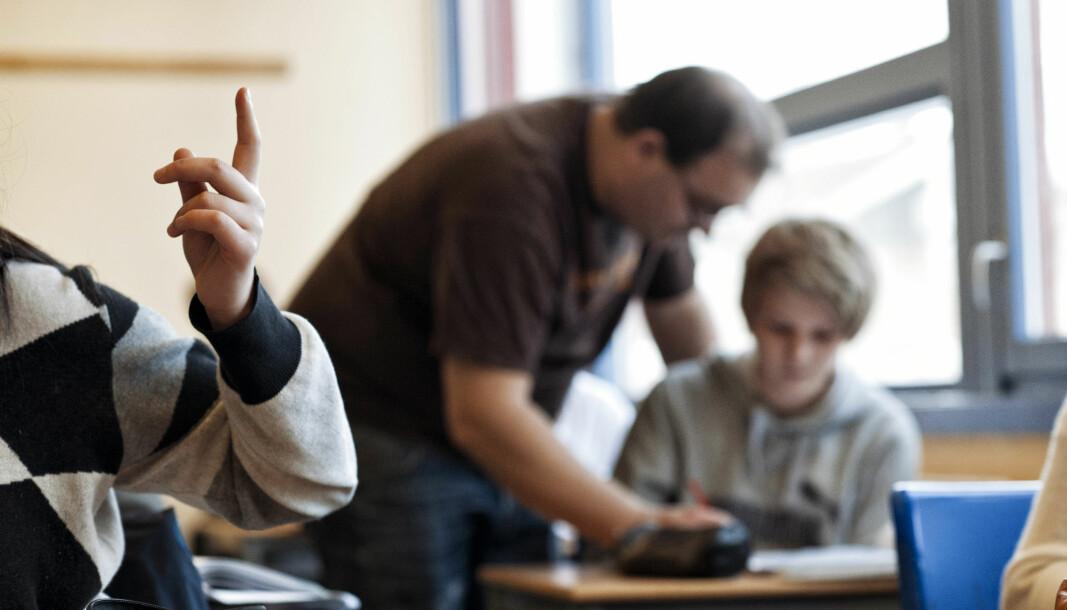 """Bærums kommunedirektør anbefaler at det """"hverken tilføres midler eller omdisponeres midler"""" for å innfri lærernormen."""