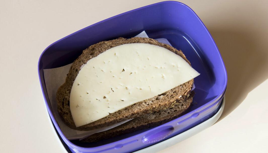 Elevene ville ha brødmat.