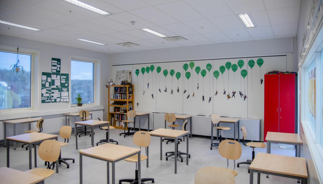 Bare 8 prosent av skolelederne oppgir at deres skole har fått korona-kompensasjon.