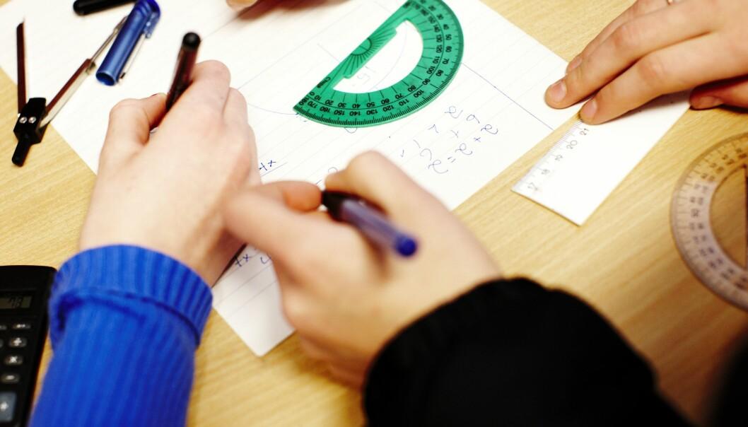 Regjeringen følger ikke opp sitt eget løfte om mer realfag i skolen i statsbudsjettet for 2021.