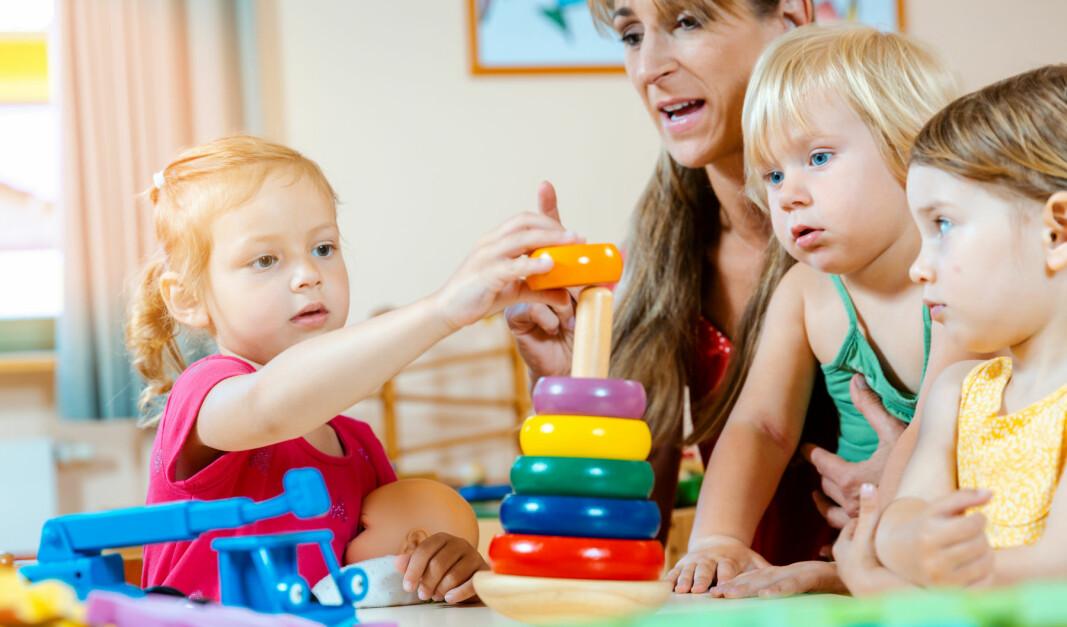 KS mener bemanningsnormene i barnehagene er underfinansiert.