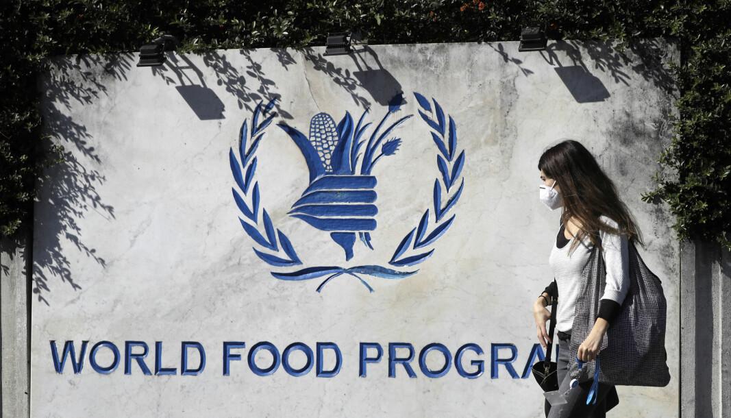 Verdens matvareprogram får årets fredspris.