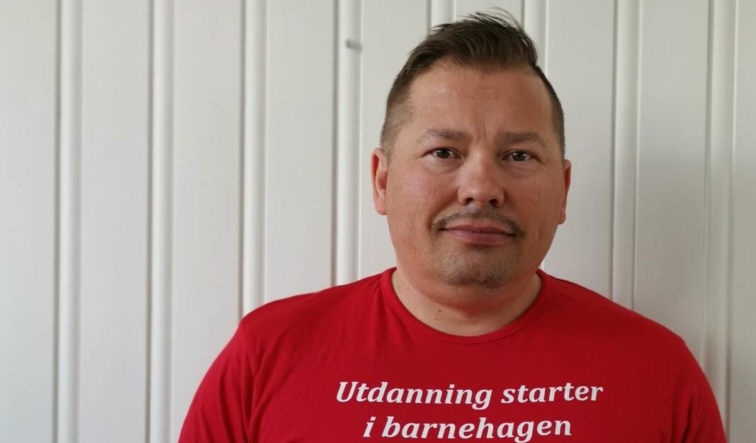 Rune Bakkejord er lokallagsleder i Utdanningsforbundet Tromsø.