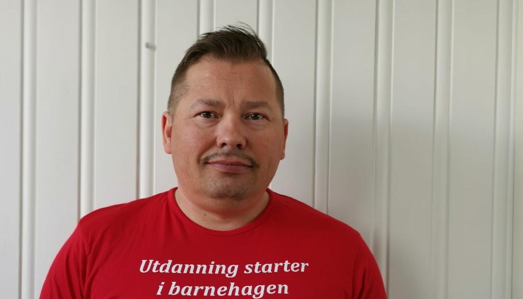 Rune Bakkejord, Lokallagsleder i Utdanningsforbundet Troms