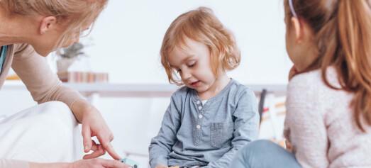 Debatt – Koronatiden har ført til at vi ser de stille barna lettere enn før og de urolige barna finner lettere roen