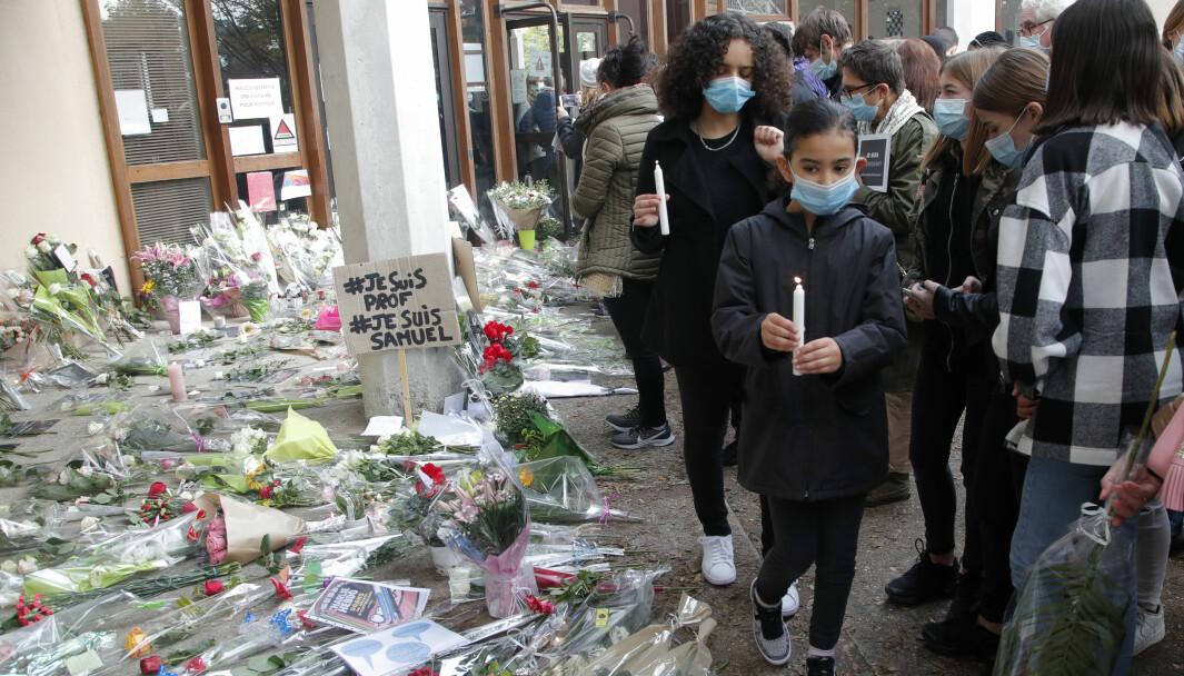 I dag er det ventet demonstrasjoner i Paris, Lyon, Strasbourg og Marseille.