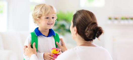 Foreldrenes utdanning avgjør hva de mener barna skal lære i barnehagen