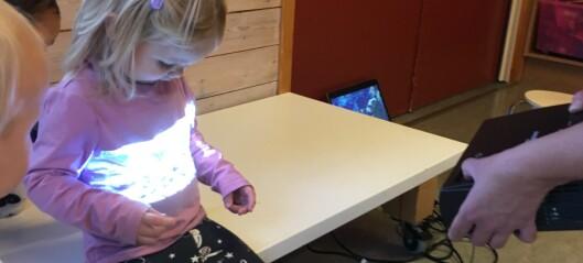 Kunstfagene i barnehagen har mange digitale muligheter