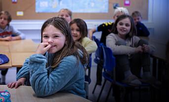 Eit hint, ein gjetteleik og ein mikroleksjon får opp læreviljen i ein fjerdeklasse