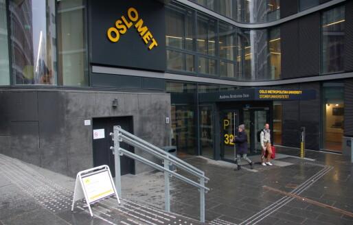 Oslo Met-ledere etterlyser penger til lærerutdanningene i statsbudsettet