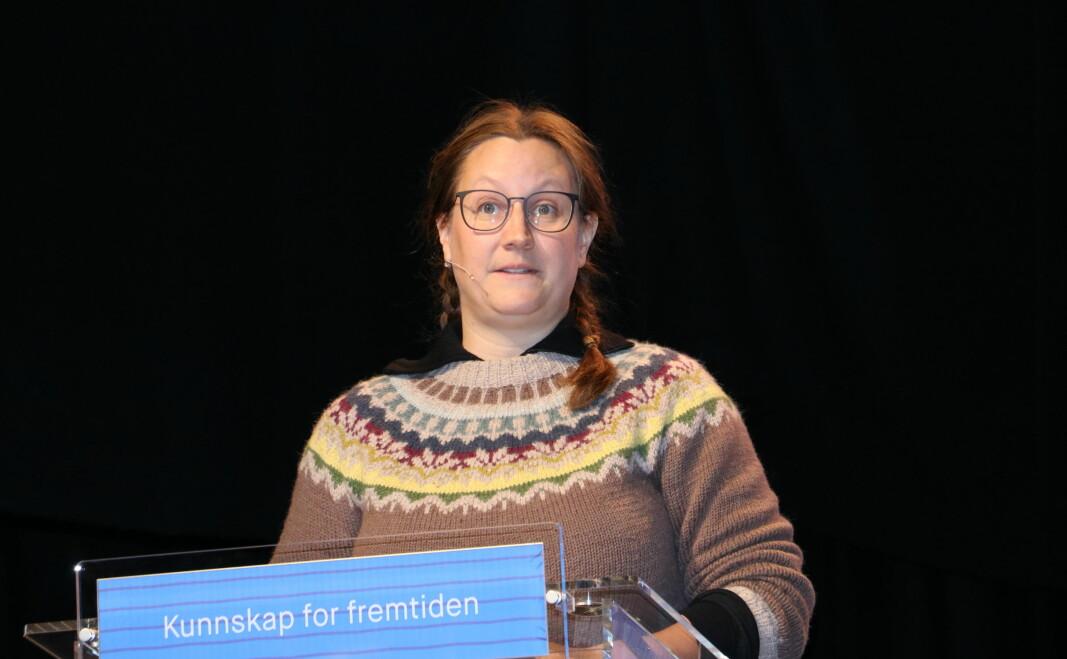 –Vi lå på full bemanningsnorm under koronatiden. Det vi hadde drømt om, forteller pedagogisk leder Kari Coventry i Bikkjestykket barnehage i Drammen.