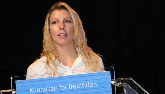 Pedagogisk leder Lindi Helene Solberg i I Karljohansveien barnehage i Horten sier mindre barnegrupper førte til at samtlige barn utviklet sin sosiale kompetanse og samarbeidet i lek på en helt annen måte enn tidligere. Barna lekte også mer, forteller hun.