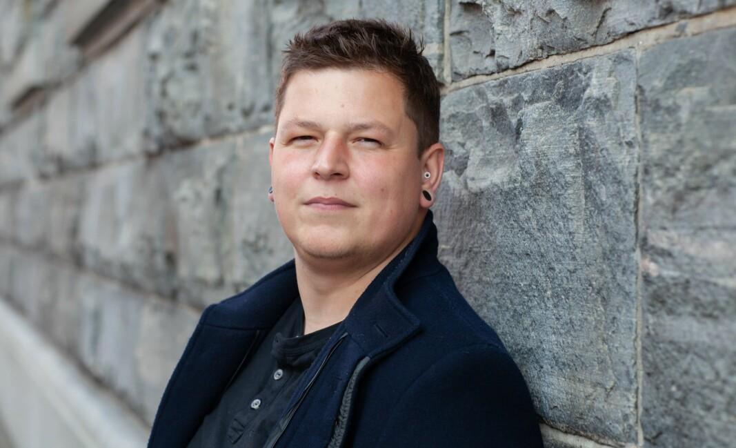 Lærer Christian Lomsdalen.