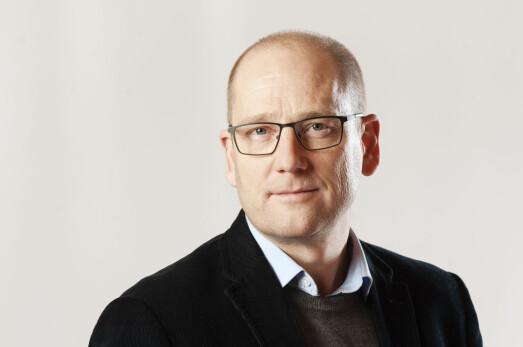 Steffen Handal, leder i Utdanningsforbundet 2020–2023 (leder i Utdanningsforbundet 2016–2019, 2. nestleder 2013–2015). Bildet er tatt i november 2019.