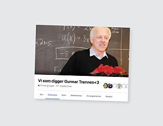 Matematikklæreren Gunnar (73) har egen fanklubb