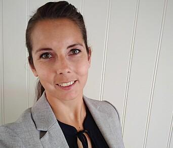 Leder i Utdanningsforbundet Østre Toten, Linn Therese Myhrvold.