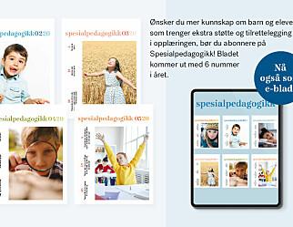 Abonner på Spesialpedagogikk