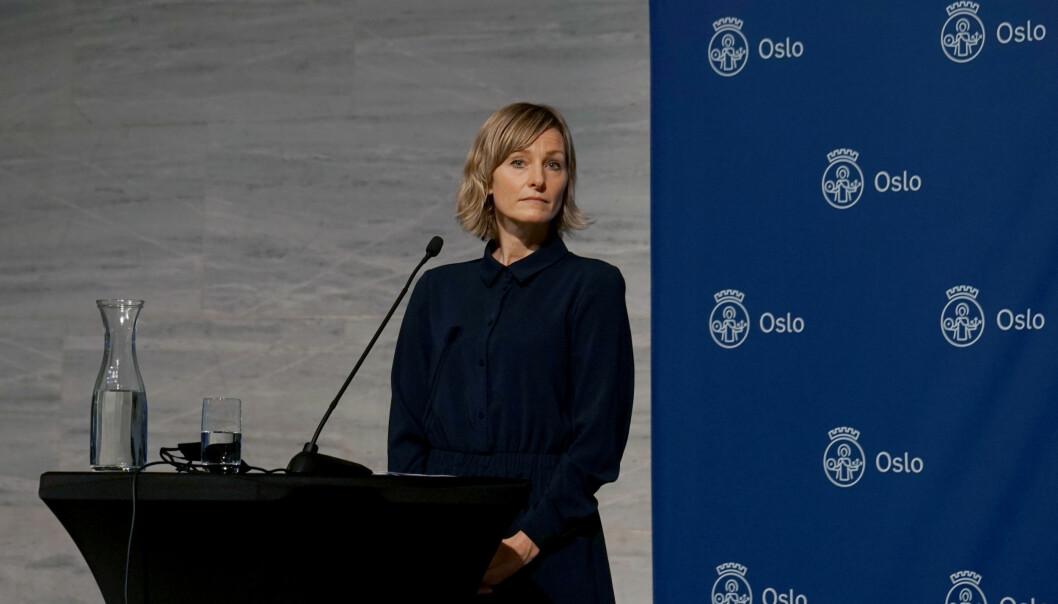 - Vi lytter til de smittevernfaglige rådene, sier byråd Inga Marte Thorkildsen.